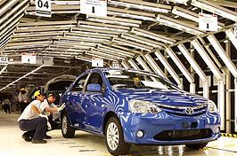 Toyota aumenta produção, mas reduz as emissões de CO2