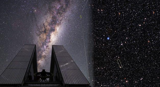 Astrônomos brasileiros identificam estrela rara na Via Láctea