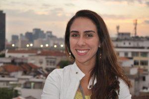 Meteorologista Juliana Hermsdorff Vellozo de Freitas