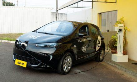 Locadora terá carro elétrico em Viracopos