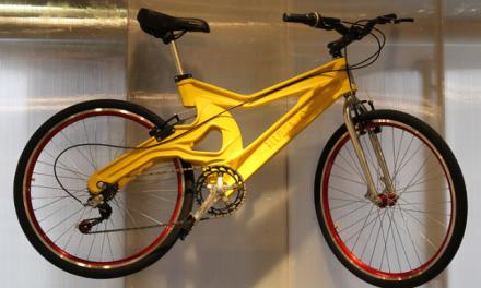 Bicicleta brasileira de plástico