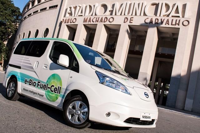 Nissan movido à célula de combustível já provou que funciona