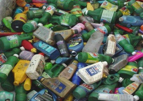 Instituto recolhe embalagens de  lubrificantes