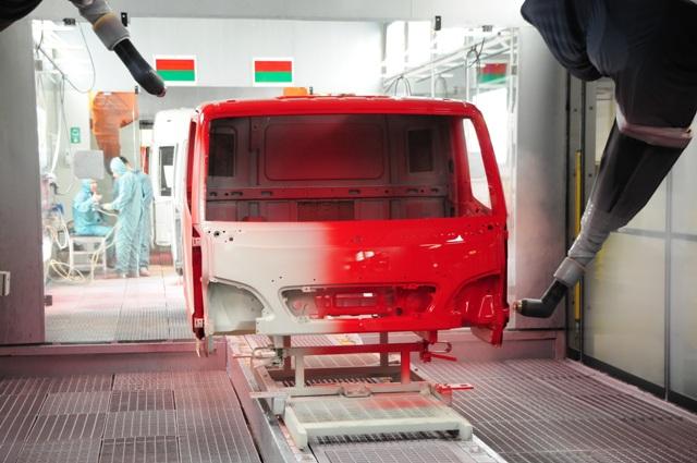 Mercedes economiza um milhão de litros d´água
