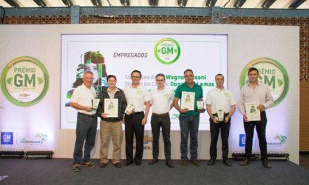 GM homenageia parceiros sustentáveis