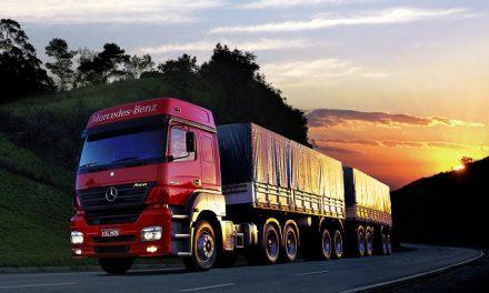 Caminhões emitem 84,5 milhões de toneladas de CO2