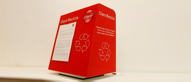 Claro recicla 142 toneladas de lixo eletrônico