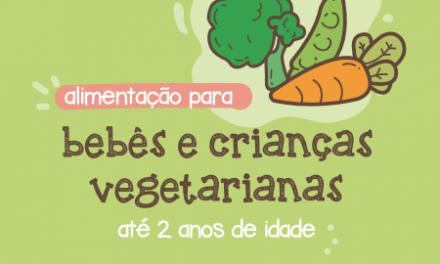 Guia alimentar para crianças vegetarianas
