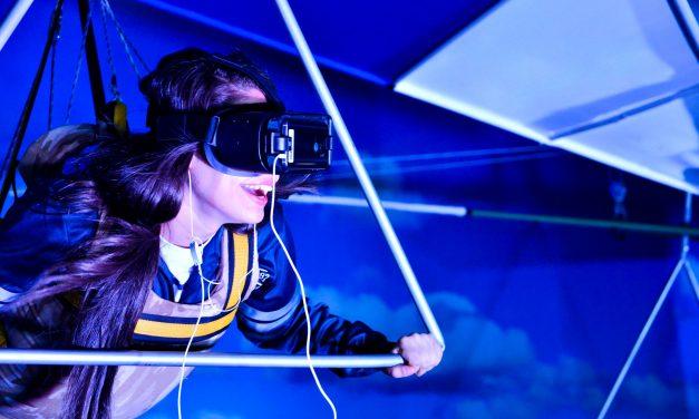 Um passeio (virtual) de asa delta e pelo fundo do mar