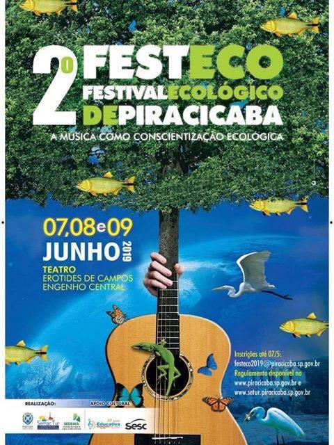 Em Piracicaba, um festival de música ecológica