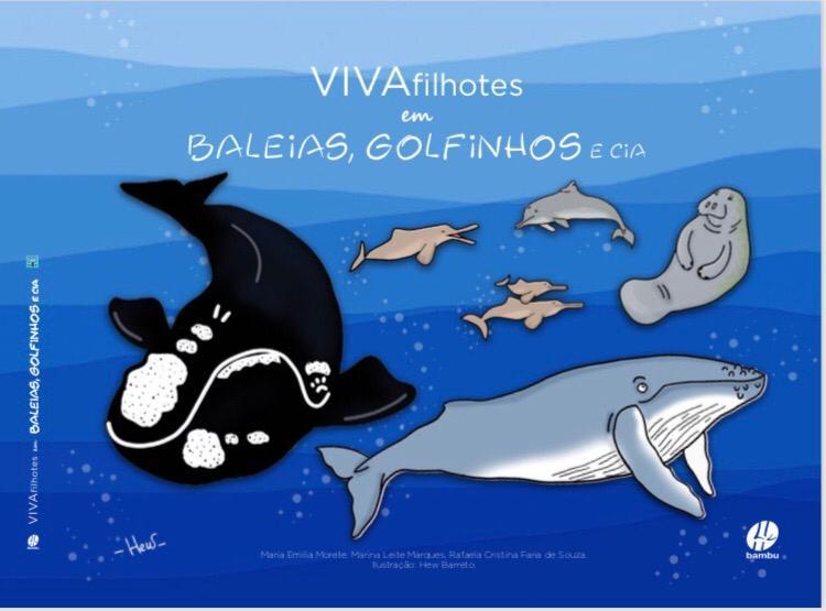 Livro narra a vida de mamíferos aquáticos