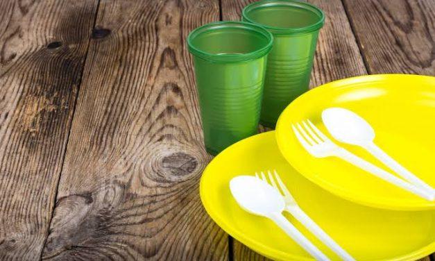 Restaurante não pode mais usar descartáveis
