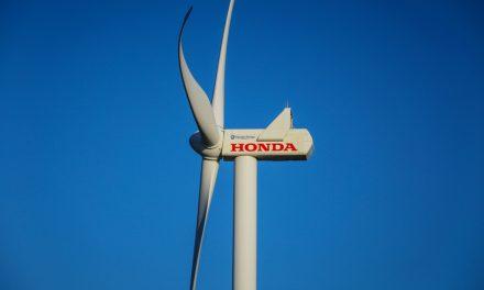Parque eólico da Honda ganha mais um aerogerador