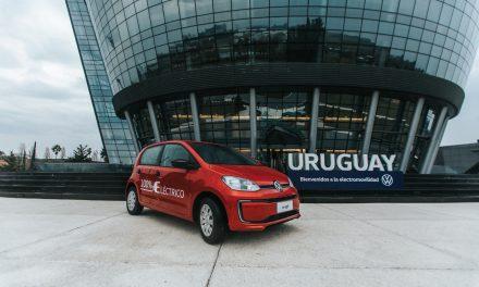 Primeiro elétrico da Volks vai para o Uruguai